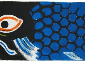 「Koi 鯉 アート のぼり」制作ワークショップ