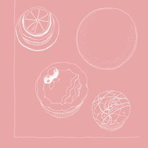 バイラ12月号|繊細なお菓子たち