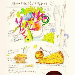 #坂本おいしいログ17|モリエールカフェ降っても晴れても
