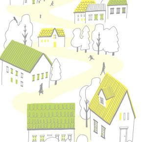 住まいの設備を選ぶ本|お家の絵