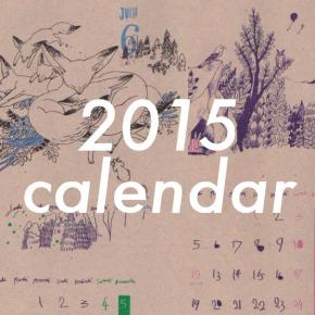 2015 どうぶつcalendar|坂本カレンダー販売中