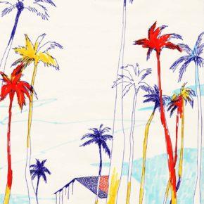 ヤシの木 palmiers