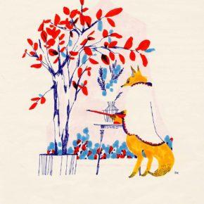 秋のきつね Automne du renard